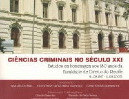 Ciências Criminais no Século XXI